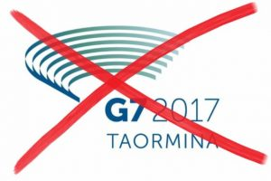 """NO G7 si preparano ad """"occupare"""" Taormina: """"Faremo sentire il fiato sul collo ai potenti della Terra"""""""
