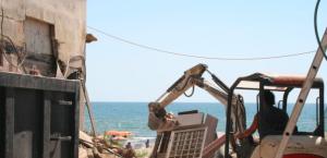 Altavilla Milicia, demolite 13 ville abusive costruite sulla spiaggia