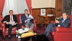 Hotspot a Palermo, Musumeci incontra il sottosegretario Candiani