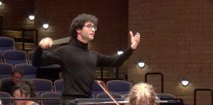 Marco Crispo, promessa siciliana per la grande direzione d'orchestra