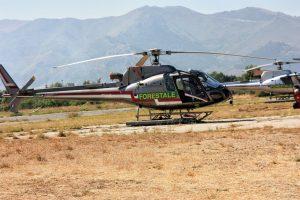 Antincendio boschivo, Regione noleggia una flotta di sei elicotteri