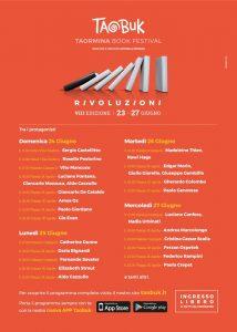 Taobuk, letteratura e spettacolo si incontrano a Taormina dal 23 giugno