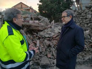 """Musumeci scrive a Roma: """"Troppa burocrazia con i terremotati"""""""