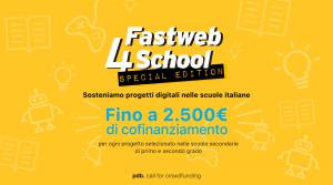 Fastweb lancia un'edizione speciale di Fastweb4School