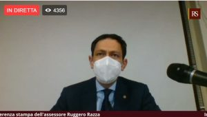 Covid, conferenza stampa assessore Ruggero Razza (in diretta)
