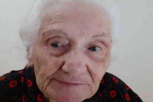 Giorgia Careno 100 anni Covid