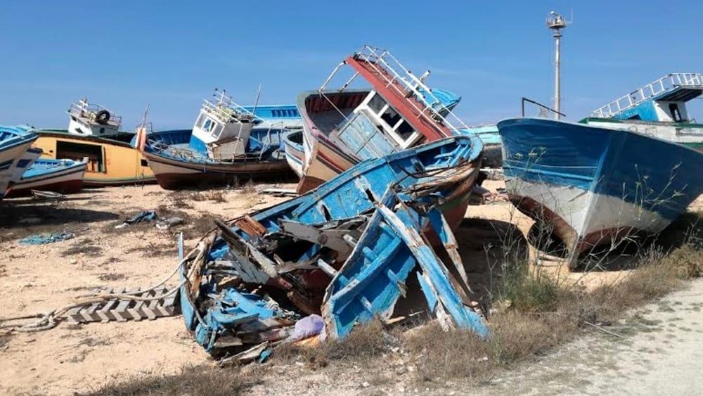 barche migranti Lampedusa