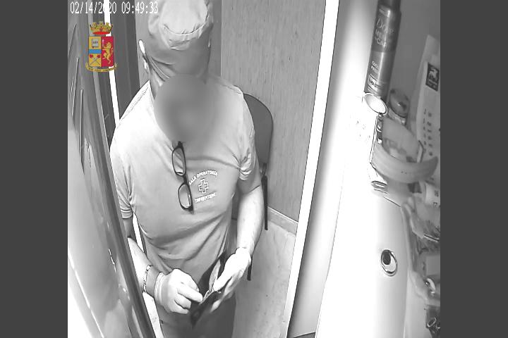 furto in ospedale a Sant'Agata di Militello