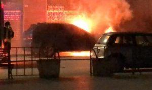 Caltagirone  a fuoco l'auto del cronista Francesco Scollo
