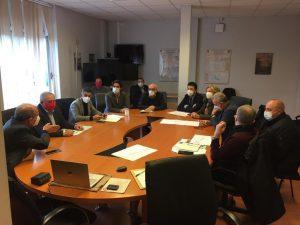 riunione Covid Messina